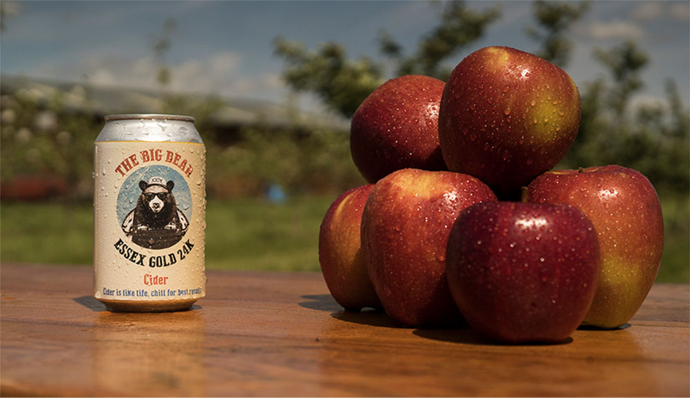 The Big Bear - Essex Gold Cider