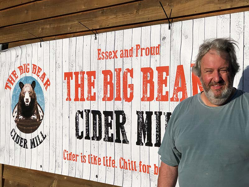 The Big Bear Cider Mill - Essex and Proud