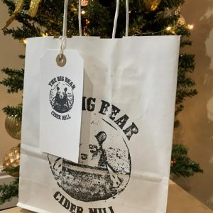 Big Bear Printed Gift Bag & Tag